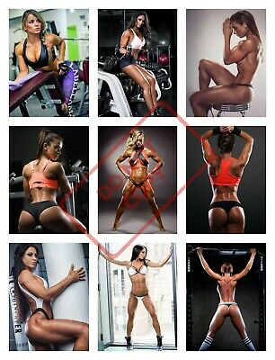 SEXY GIRL BODYBUILDING Fitness Motivational Gym Poster 36x24
