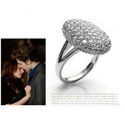 S925 Silver Jewelry Hotsale VAMPIRE TWILIGHT Bella Ring Engagement Wedding Ring