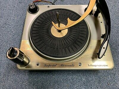 Vintage Magnavox Imperial Micromatic Stereo Record Changer
