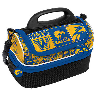 Western Bulldogs AFL Lunch Cooler Bag With Drink Tray Table Insulated Work