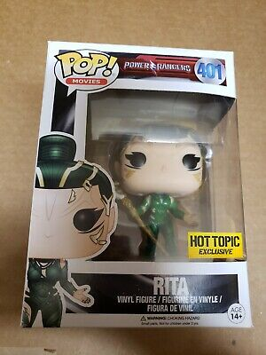 Funko Pop Power Rangers Movie Rita Hot Topic exclusive