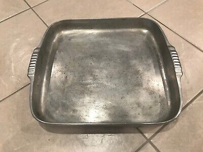 Vintage Magnalite Aluminum Road and Bake Pan Wagner Ware Sidney 4007 - M