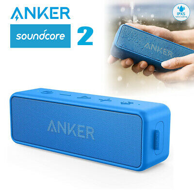 Anker Soundcore 2 Portable Speaker 12W Bluetooth 5.0 Bassup IPX7 Wireless Stereo