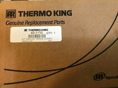 Thermo King 401110 Kit Display Triple Combo OEM BRAND NEW **FREE SHIPPING**