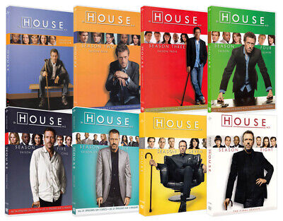 House, M.d. (The Complete Series) (Seasons 1-8) (8 Pack) (Boxset) (Dvd)