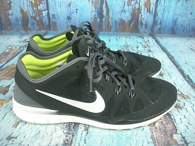5e3a965138498 Nike Free TR Fit 5 Black Running Walking Crossfit Casual Shoes Women's  Size: 11