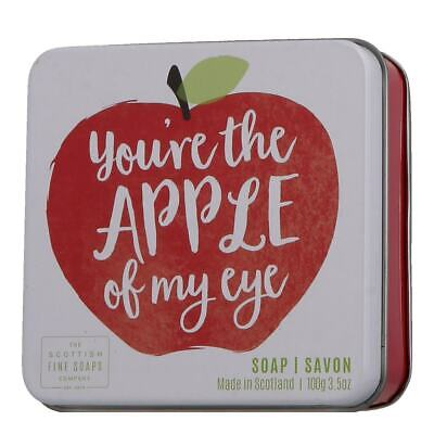Scottish Fine Soaps - Soap in a Tin You're the Apple of my Eye 100g