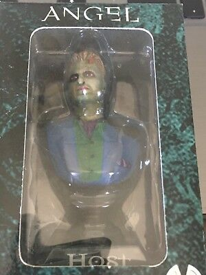 Buffy Angel Lorne The Host 2002 Mini Bust Ornament Moore Very Rare Hallett Last1
