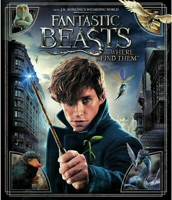 Fantastic Beasts and Where to Find Them (Blu-ray 2017) NEW