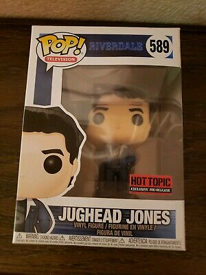Funko Pop Jughead Jones Riverdale red sticker pre release Hot Topic exclusive