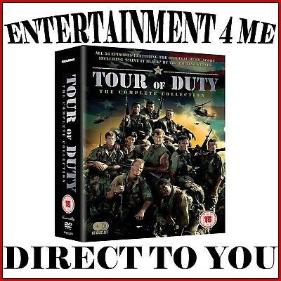 Tour Of Duty - The Complete Collection- Complete Series  *Brand New Dvd Boxset*