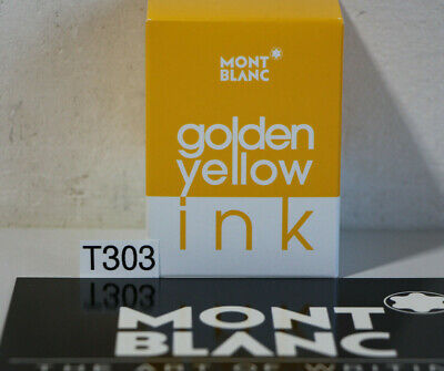 Montblanc - Tinte Golden Yellow Ink - 30 ml #112723 (T303-R80)