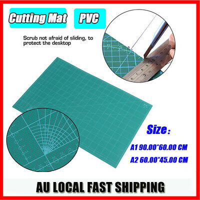 A1 A2 5-Ply Self Healing Craft Cutting Mat 2 Side Scrapbooking Quilting Thick