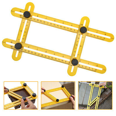 New Flexible Ruler Measuring Instrument Angle Template Tool Create Shapes UK Hot