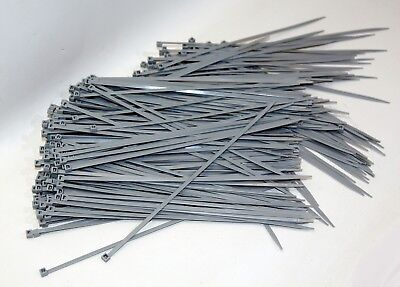 Cable Tie 280 x 4,0 mm Industrial Quality Grey 300 Piece