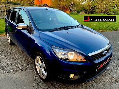 2009 09 Ford Focus 1.8 TDCi Style ESTATE Diesel Blue MOT OCT 2019