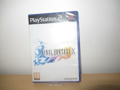 Final Fantasy X (10) Sony PLAYSTATION 2 PS2 Game - *Nuevo & Precintado Pal