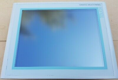 Siemens 6AV6 545-0DB10-0AX0 Simatic Multi Panel HMI MP370 15""