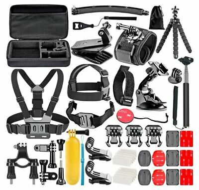 GOPRO ACCESSORIES Set 50in1 KIT For Hero 7 6 5 4 Action Sports Camera Mount New