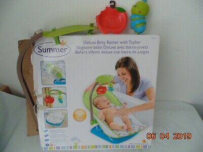 Summer Delux Baby Bather with Toybar  !!! FREE P&P !!!