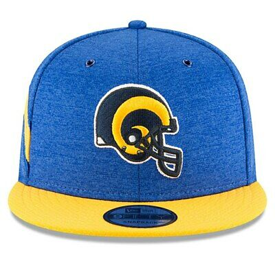 new style 17853 f53f8 New Era 2018 Men s Los Angeles Rams Sideline Home 9Fifty Adjustable Hat