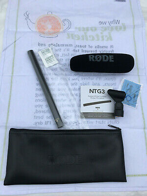 Rode NTG3B Shotgun Microphone Brand New NTG3