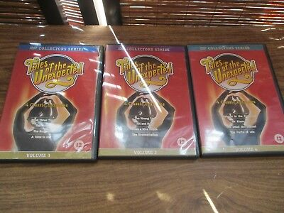 Tales of the Unexpected Vol 2, 3 and 4 Set of Three Dvds (12 episodes in total)