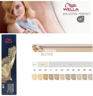 Wella Professional Koleston Perfect Permanent Hair Color Dye - SPECIAL BLONDE