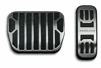 Genuine Jaguar F Type - Bright Metal Pedal Covers (C2P23554)