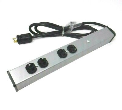 Wiremold / Legrand LC15-1044WM-6 Walmart 4 Outlet Power Supply With 6 ft. Cord