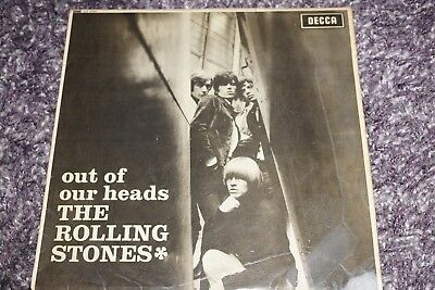 Rolling Stones Out Of Our Heads Decca Records Lk.4733 Original 1965 Uk Pressing