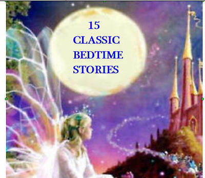 30 FANTASTIC CHILDRENS BEDTIME AUDIO STORIES ON 2 CDs  THE KIDDIES  LOVE THEM,