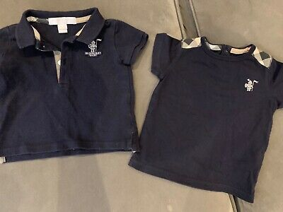 burberry baby T-shirt polo 6-9 months