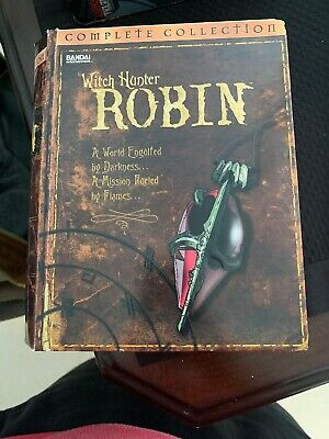 Witch Hunter Robin - The Complete Collection (DVD, 2004, 6-Disc Set) + Pins