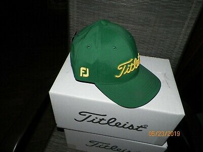 716028e48 1 NEW TITLEIST Junior Tour Performance Hat Green Adjustable Th9Ajrp-P06