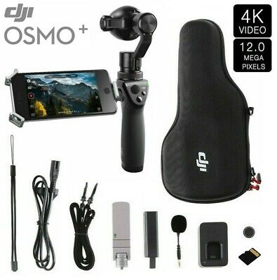 DJI OSMO+ PLUS 4K 12MP Handheld Stabilized Action Camera w/ 3.5x Optical ZOOM