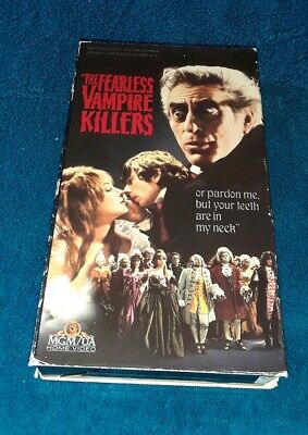The Fearless Vampire Killers VHS
