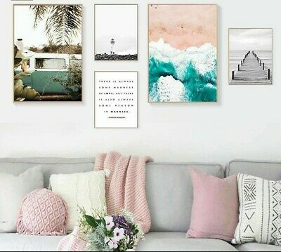 Living Room Canvas Posters Decorative Wall Art Printed Painting Nordic Style New