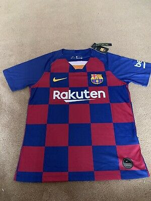 Barcelona Home Shirt SMALL 2019/20