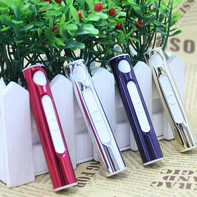 Electric Metal Cigarette Lighter Rechargeable USB Charging Lighters Windproof UK
