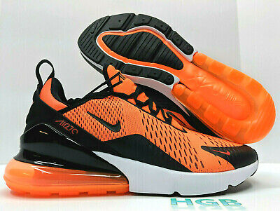 cheap sale many styles coupon code NIKE AIR MAX 270 Hommes Basket Total Orange Blanc Course ...