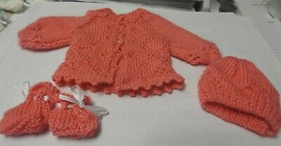 Hand Knitted Doll's Clothes
