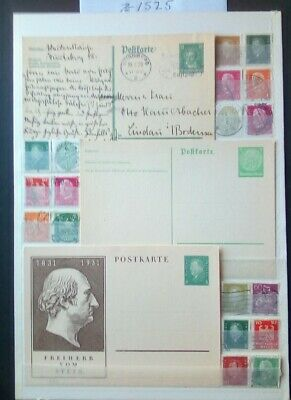 German Weimar Period/Imperial Stamps, Postcards Original,