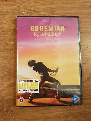 Bohemian Rhapsody DVD 2019 Brand New Sealed with Special Features (24 Hour Post)