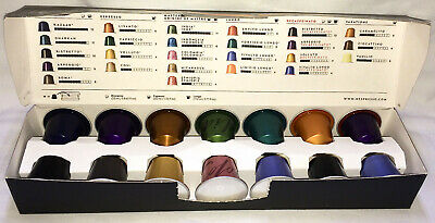 Nespresso OriginalLine Variety Welcome Sampler Pack 14 Coffee Capsules Pods Pixi
