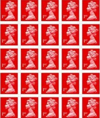 24 x Royal Mail First Class Stamps Brand New RRP £16.80