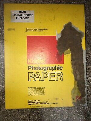 Vintage Kodak Photographic Paper N 8x10in 100 Sheets Type 2290 Ektacolor 37 RC