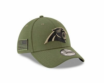 info for 47580 dd93b New Era Men s Carolina Panthers Salute to Service 39Thirty Fitted Hat Pix  Size
