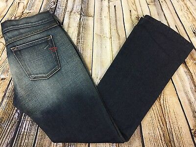 8e7f276f Diesel Industry Zink Bootcut Jeans Womens 28 (29 x 30) Dark Wash Made in