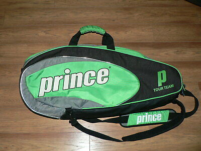 Prince Tour Team Multi Racquet Carrying Bag Green/Black/Gray